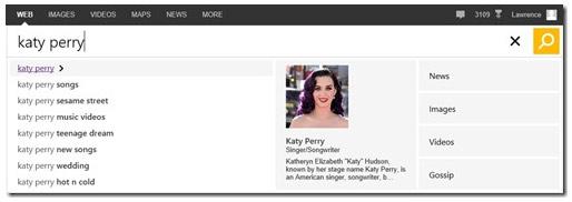 Bing Page Zero