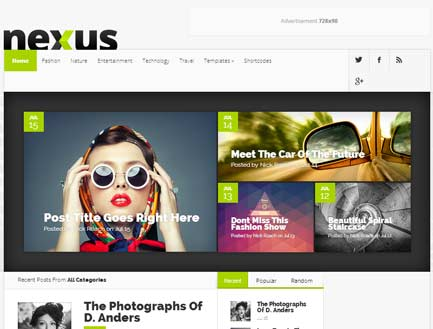 Nexus premium theme