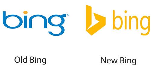 new bing logo