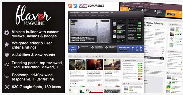 Premium Magazine WordPress Themes
