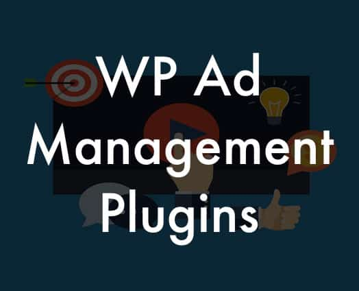 WordPress Ad management plugins