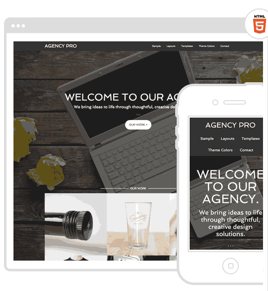 Agency Theme for wordpress website