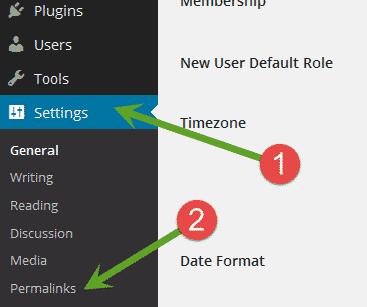 WordPress permalinks not working