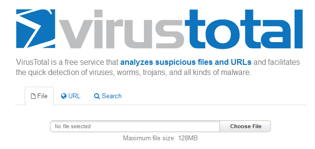 scan wordpress site for malware