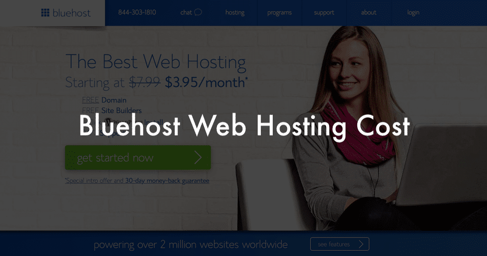 How Much does Bluehost Cost