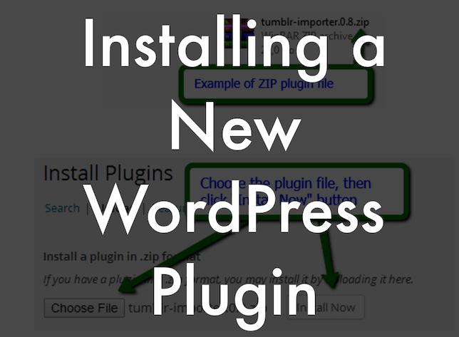 Install a New WordPress Plugin