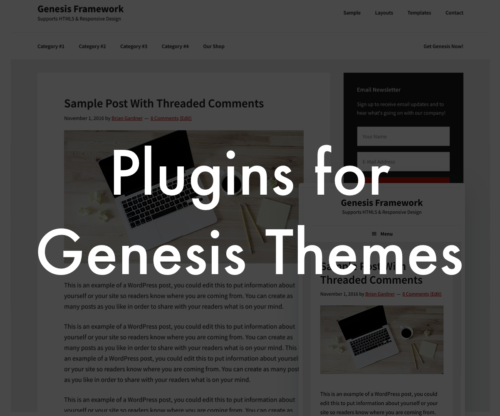 Plugins for Genesis Themes