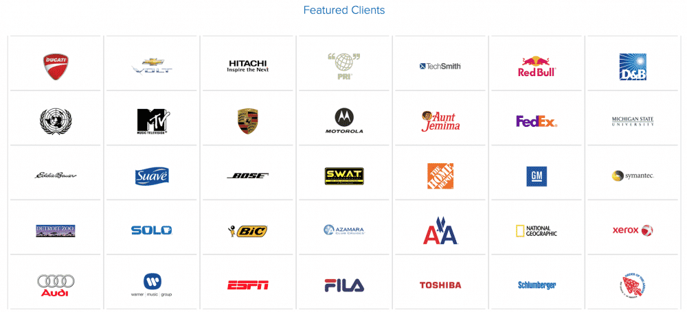 featured dedicated hosting clients