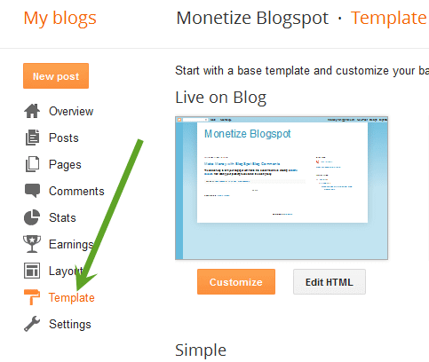 Monetize Blogspot comments