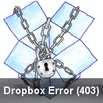 Dropbox Error (403)