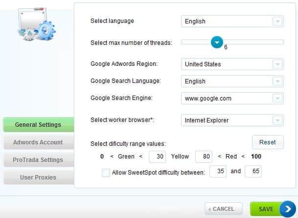 Google Niche Tool