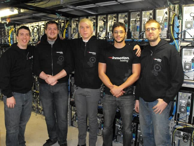 InmotionHosting data center Team