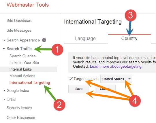 Target your Blog for a Specific Country