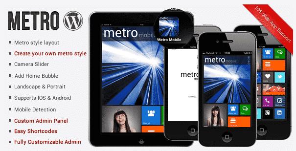 Mobile WordPress Theme