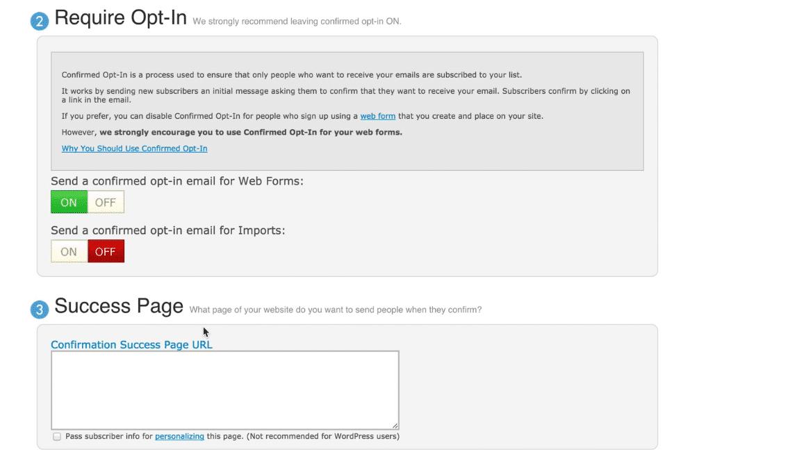Aweber email marketing service