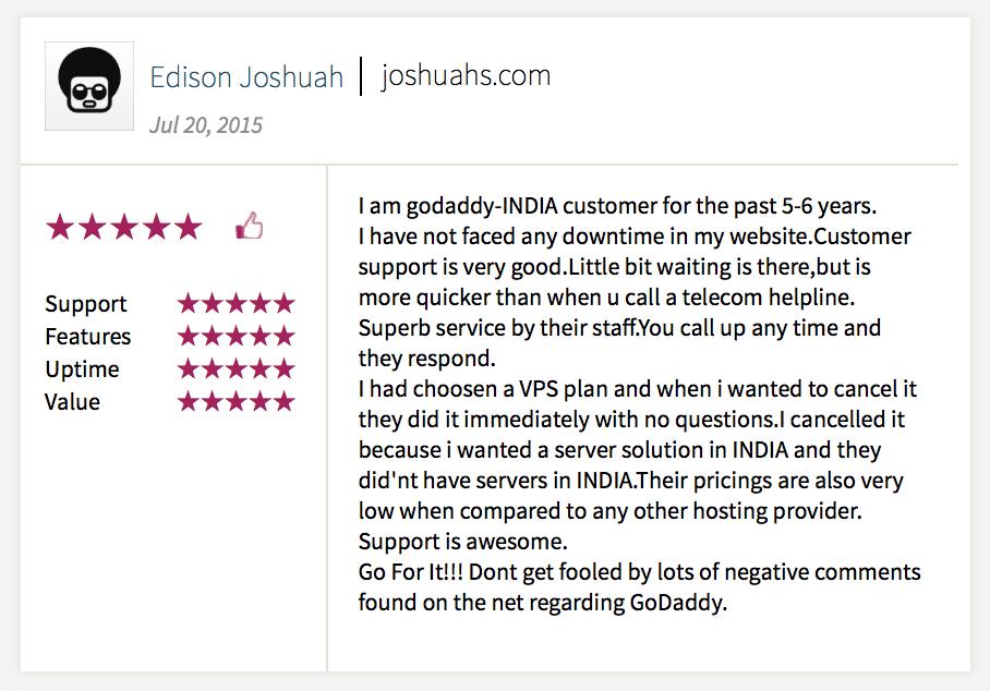 GoDaddy.com Reviews