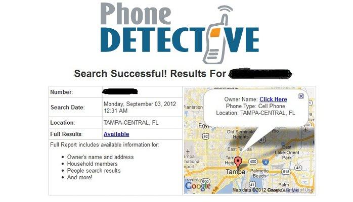 Phone Detective report