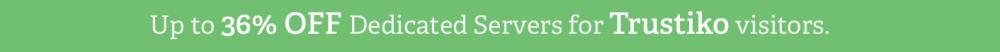 Dedicated server discount