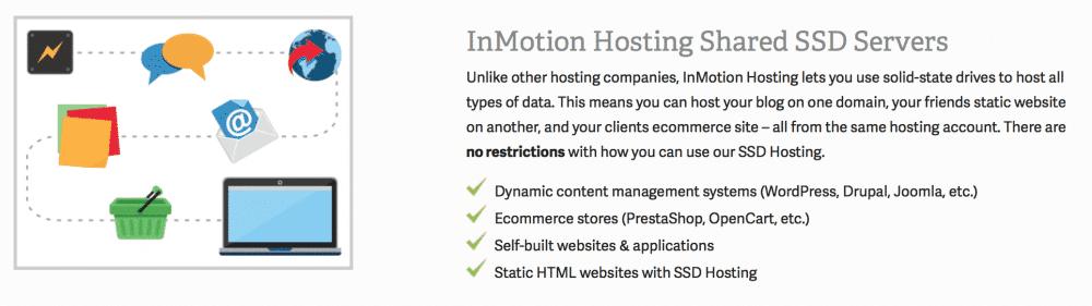 InMotion Hosting servers