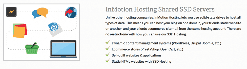 InMotion Hosting servers