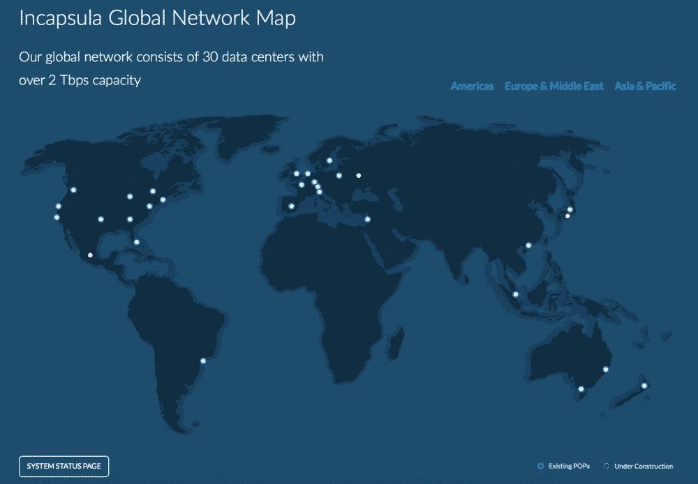 Incapsula Global CDN Network