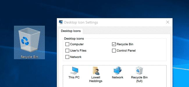 Windows 10 recycle bin