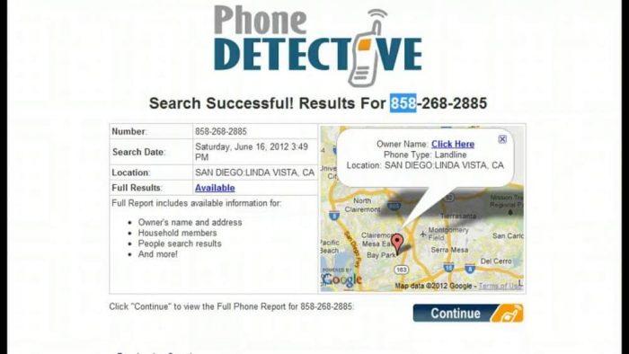 Phone Lookup Tool