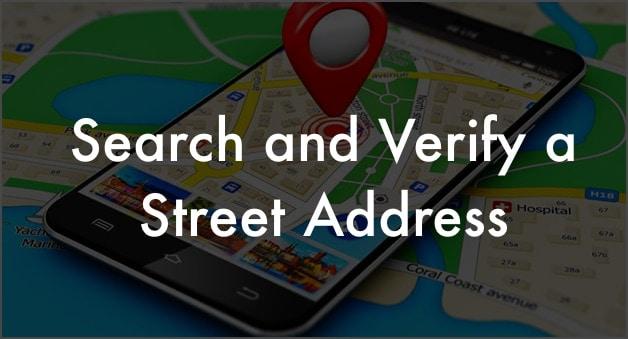 Verify a Street Address