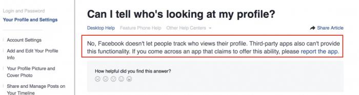 Facebook question