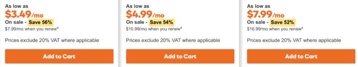GoDaddy discount