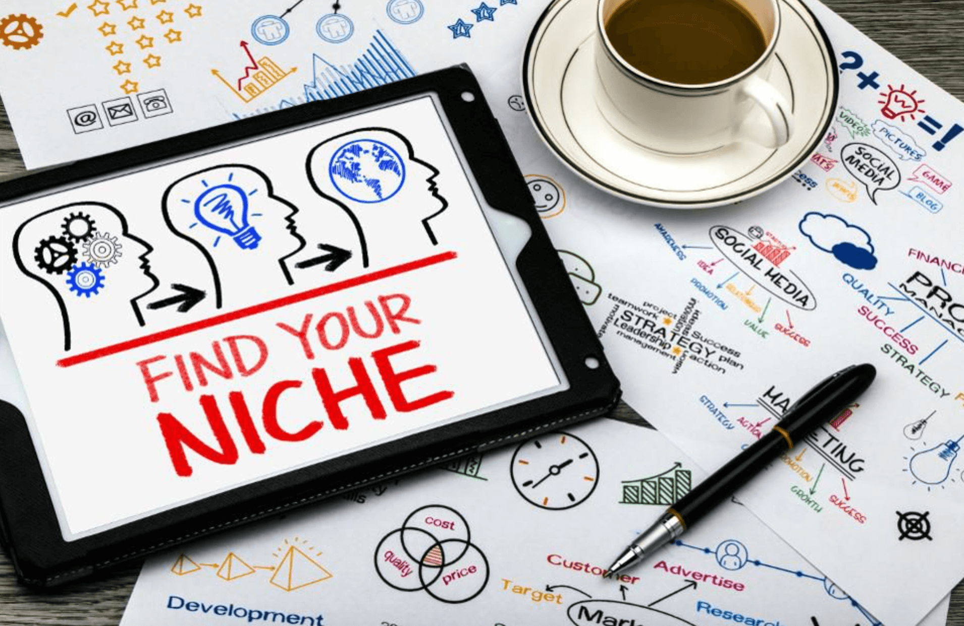 niche finder software with low competition keywords